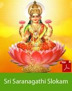 Sri Saranagati Slokam