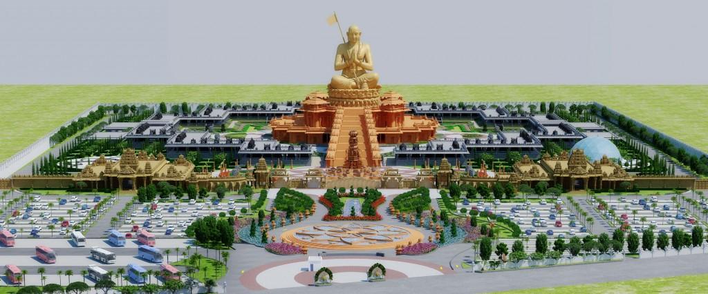 Ramanuja-Sahasrabdi-View1